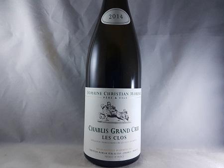 Christian Moreau Les Clos Chablis Grand Cru 2014