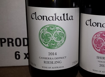 Clonakilla Canberra District Riesling 2002
