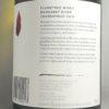 Flametree Margaret River Chardonnay 2018 Back Label