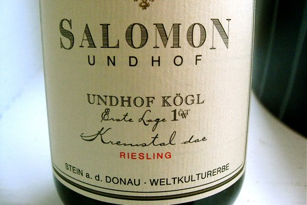 Salomon Undhof Kogl Riesling 2011