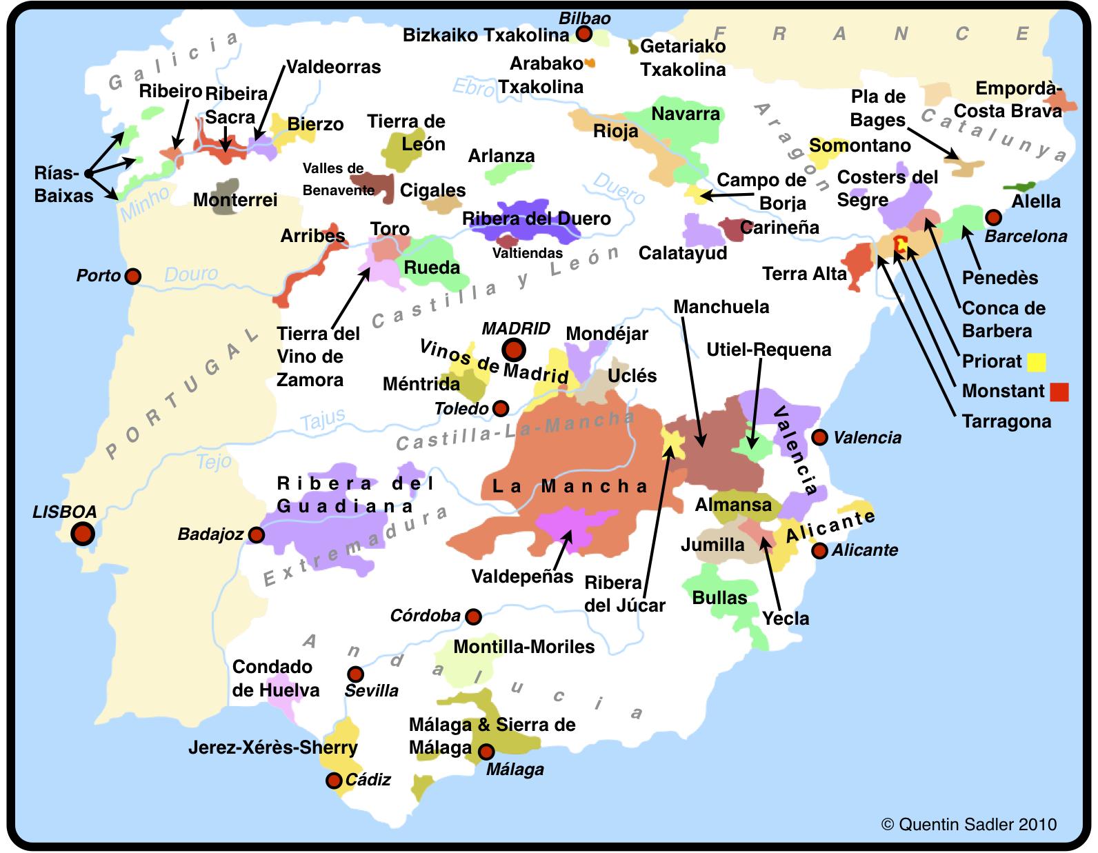 Calatayud Spain Map.Bodegas Ateca Honoro Vera Calatayud Garnacha 2014 The Wine Depository