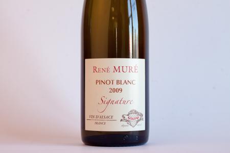 Rene Mure Signature Alsace Pinot Blanc 2009