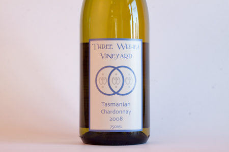 Three Wishes Tasmania Chardonnay 2008