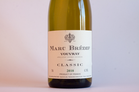 Marc Bredif Vouvray 2010