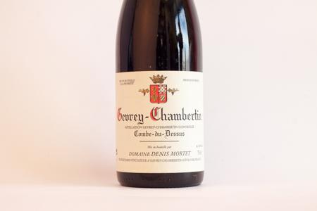 Domaine Denis Mortet Combe-du-Dessus Gevrey Chambertin 1998