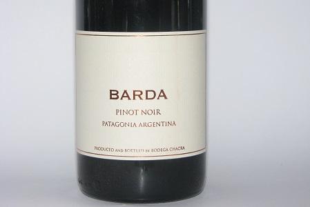 Chacra Barda Patagonia Pinot Noir 2016