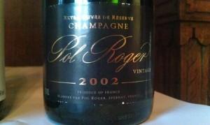 Pol Roger Vintage Brut 2002