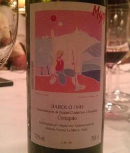 Robert Verozio Barolo 1993