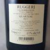Ruggeri Quartese Prosecco Superiore Brut NV Back Label