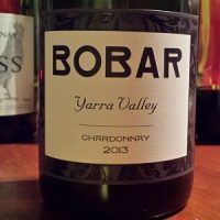 Bobar Wines Yarra Valley Chardonnay 2013 Sustainable