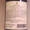 Benanti Bianco di Caselle Etna Bianco DOC 2017 Back label