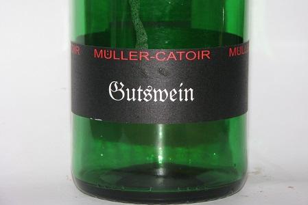 Muller Catoir Gutswein QBA Trocken Pfalz 2013