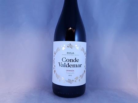 Conde de Valdemar Rioja Crianza 2012