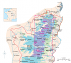 Cru Beaujolais - Map