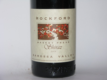 Rockford Basket Press Barossa Shiraz 2001