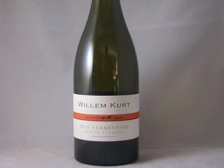 Willem Kurt Alpine Valleys Vermentino 2015