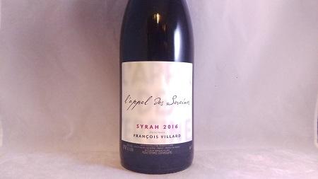Francois Villard L'Appel des Sereines Vins de France Rhone Valley Syrah 2016