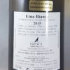 Graci Etna Bianco DOC 2015 Back Label