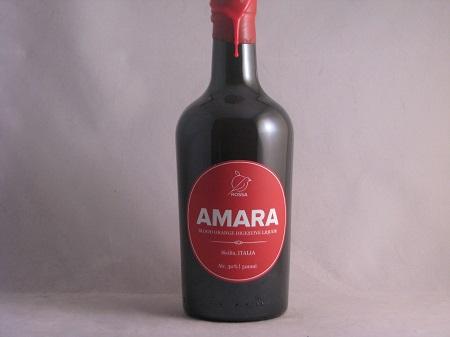 Rossa Sicily Amara Blood Orange Digestive Sicily NV Label