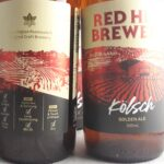 Red Hill Brewery Kolsch Golden Ale Back Label