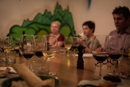 Canberra Dinner at Mocan and Green Grout
