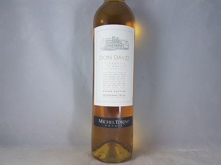 El Esteco Don David Late Harvest Torrontes Argentina 2010 500ml