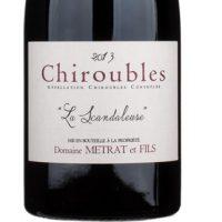 Bernard Metrat La Scandaleuse Chiroubles Beaujolais 2015