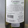 Catena Zapata Catena Mendoza Chardonnay 2015 Back Label