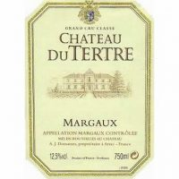 Chateau du Terte Margaux 5th Growth 2016
