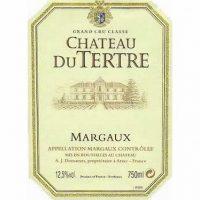 Chateau du Terte Margaux 5th Growth 2016