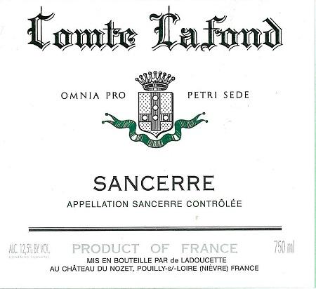 Domaine De Ladoucette Comte Lafond Sancerre 2014 375ml