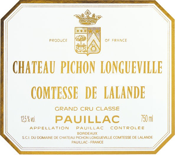 Pichon-Lalande Pauillac 2nd Growth 2016