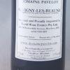 Domaine Pavelot Savigny Les Beaune 2014 375ml Back Label
