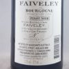 Joseph Faiveley Bourgogne Rouge 2015 375ml Back Label