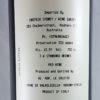 Le Salette Valpolicella Classico DOC 2012 Back Label