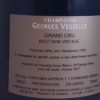 Georges Vesselle Bouzy Brut Grand Cru NV Back Label