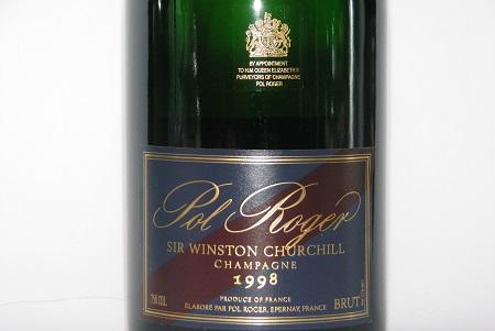 Pol Roger Sir Winston Churchill 1998