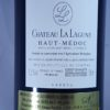 Chateau La Lagune 3rd Growth Haut-Medoc 2014 Back Label