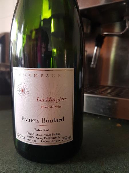 Francis Boulard Les Murgiers Blanc De Noirs Extra Brut (100% pinot meunier) NV