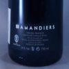 Raymond Usseglio les Amandiers Vin de France 2015 Back Label