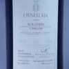 Tenuta dell'Ornellaia Bolgheri DOC 2007 Back Label
