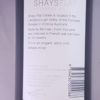 Shays Flat Pyrenees Shiraz 2004 Back Label