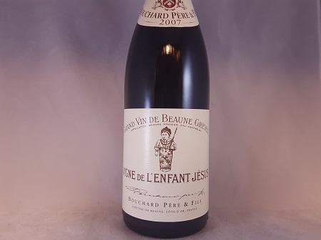 Bouchard Beaune Greves Vignes de l'Enfant Jesus Premier Cru 2007