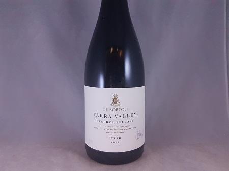 De Bortoli Yarra Valley Reserve Release Syrah 2005