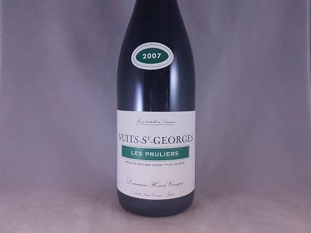 Domaine Henri Gouges Nuits-St-Georges Les Pruliers Premier Cru 2007