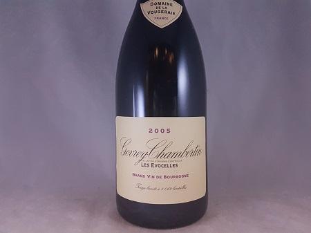 Domaine de la Vougeraie Gevrey Chambertin Les Evocelles 2005
