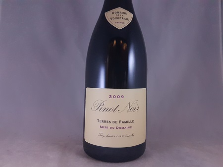 Domaine de la Vougeraie Terres de Famille Bourgogne Pinot Noir 2009