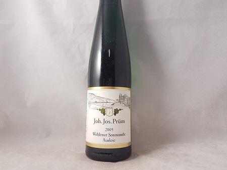 JJ Prum Wehlener Sonnenuhr Riesling Auslese 2005 375ml