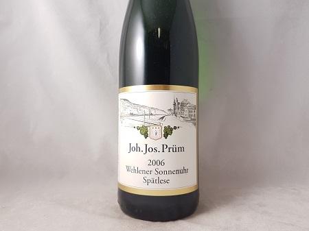 JJ Prum Wehlener Sonnenuhr Riesling Spatlese 2006