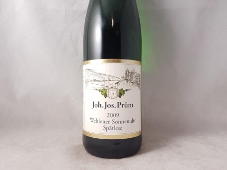 JJ Prum Wehlener Sonnenuhr Riesling Spatlese 2009